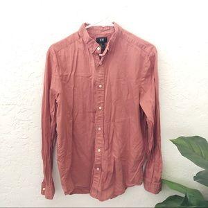 H&M Men's Button Down Shirt Size M